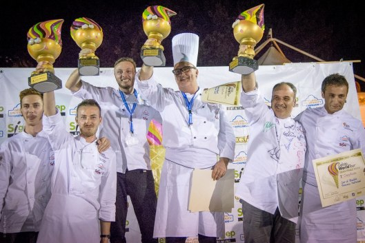 Die Gewinner © Dino Buffagni/Gelato World Tour